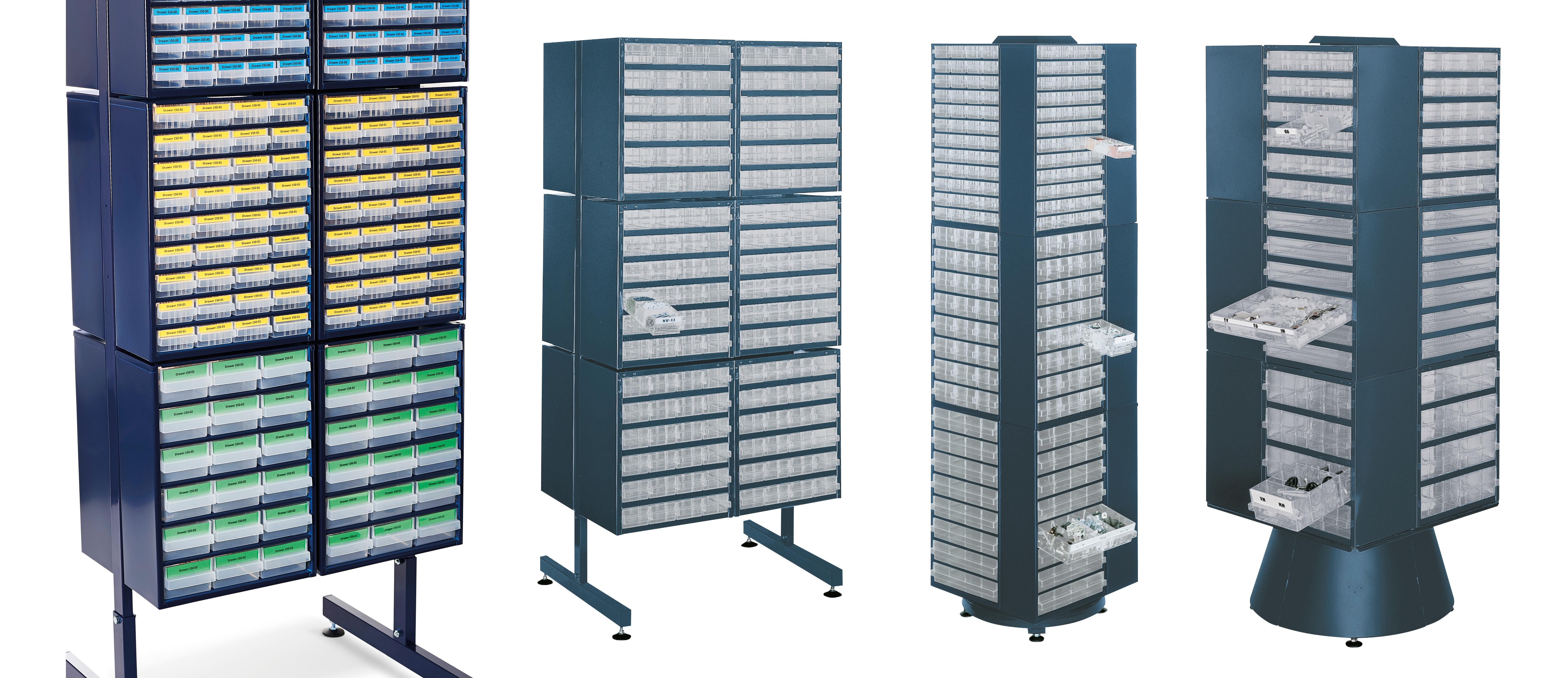Raaco 137416 1200 série 1208-03 Armoire 8 tiroirs